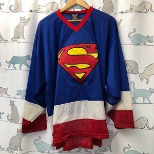 Vintage Superman Hockey Jersey
